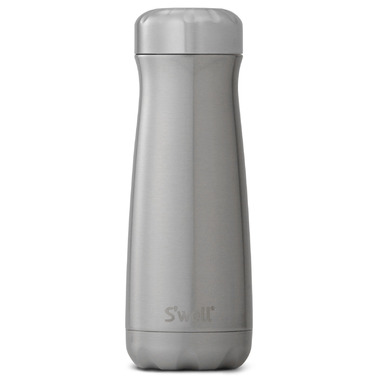 S\'well Silver Lining Stainless Steel Wide Mouth Traveler Bottle