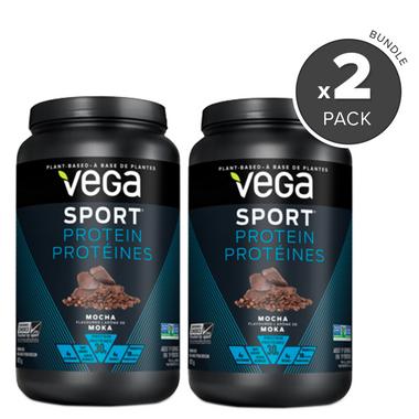 Vega Sport Protein Mocha Flavour 2 Pack Bundle