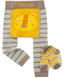ZOOCCHINI Legging & Sock Set Leo the Lion