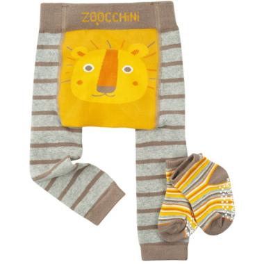 ZOOCCHINI Legging & Sock Set Leo the Lion