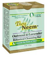 TheraNeem Oatmeal & Lavender Botanical Cleansing Bar