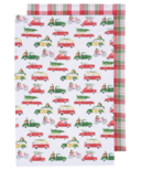 Now Designs Tea Towel Set Holiday Cars