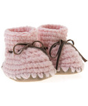 Beba Bean Pink Sweater Moccs