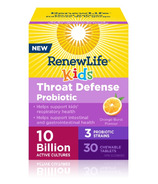 Renew Life Throat Defense Probiotic