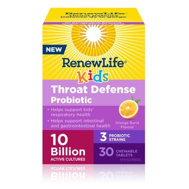 Renew Life Throat Defense Probiotic