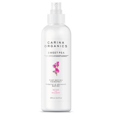 Carina Organics Fast Drying Hairspray Sweet Pea