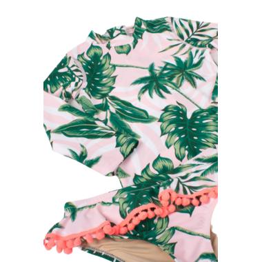 Shade Critters Rashguard Set Pink Palm