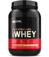 Optimum Nutrition Gold Standard 100% Whey Fench Vanilla Creme
