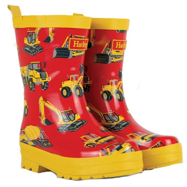 Hatley Rainboots Heavy Duty Machines