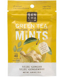 Sencha Naturals Sugar Free Green Tea Mints Yuzu Ginger