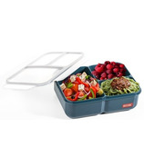 Russbe 3 Compartment Inner Seal Lunch Bento Navy