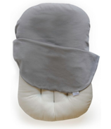 Snuggle Me Organic Lounger with Cover Pebble
