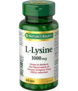 Nature's Bounty L-Lysine