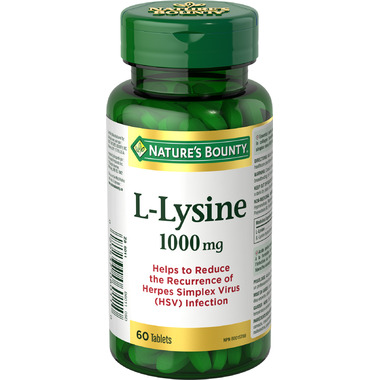 Nature\'s Bounty L-Lysine