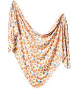 Copper Pearl Citrus Swaddle Blanket