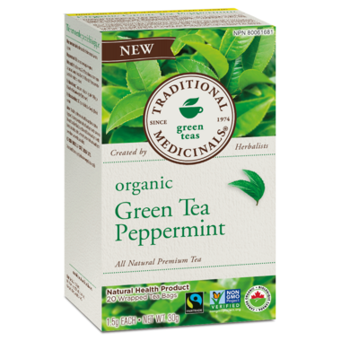 Traditional Medicinals Organic Green Tea Peppermint