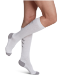Sigvaris Athletic Recovery Socks Compression Socks Unisex White