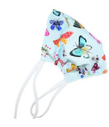 Puffin Gear Reusable Cloth Face Mask Butterfly