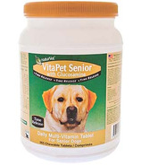 Naturvet VitaPet Senior with Glucosamine Tablets