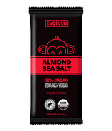 Evolved Almond Sea Salt 72% Chocolate Bar