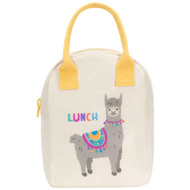 Fluf Zippered Lunch Llama - Well.ca Exclusive