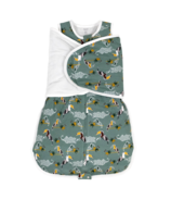 Nest Designs Organic Cotton Swaddle Sleep Bag 2.5 TOG Toucan Small
