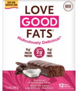 Love Good Fats Coconut Chocolate Chip Bar Case