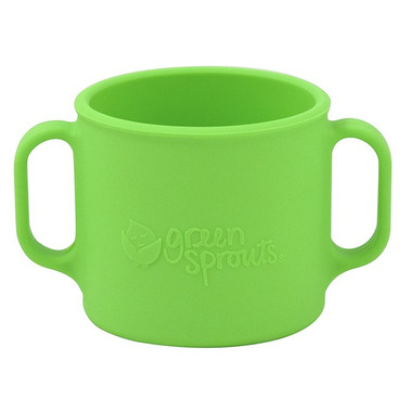 Green Sprouts Silicone Learning Cup Green