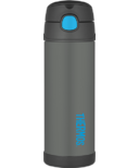 Thermos FUNtainer Insulated Bottle Charcoal