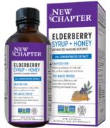 New Chapter Elderberry Syrup + Honey