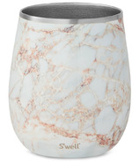 S'well Stainless Steel Wine Tumbler Calcatta Gold