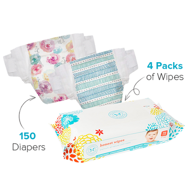 The Honest Company Size 5 Diapers & Wipes Bundle