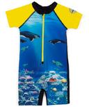 nano One-Piece Rashguard Swimsuit Hawaii Sun 9-24M