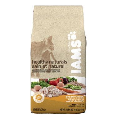 Iams Cat Healthy Naturals Adult With Wholesome Chicken