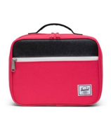 Herschel Supply Pop Quiz Lunch Bag Rouge Red and Black Sparkle