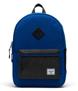 Herschel Supply Heritage Youth Backpack Surf The Web and Black Crosshatch