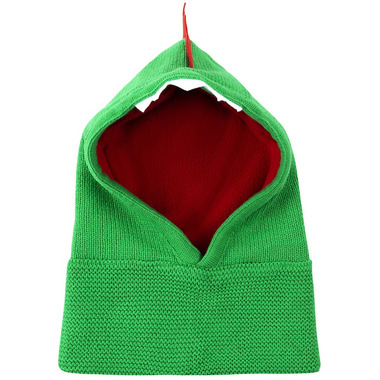 ZOOCCHINI Baby Knit Balaclava Hat Devin the Dinosaur