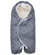 7 A.M. Enfant Nido Cloud Heather Grey Stars 0-6M