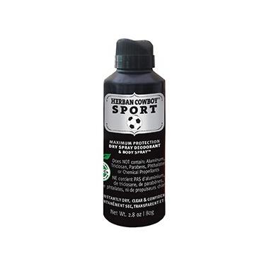 Herban Cowboy Dry Deodorant And Body Spray Sport