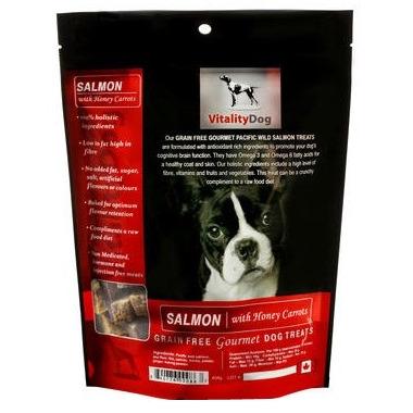 Vitality Dog Salmon with Honey Carrots Dog Treats