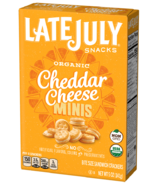 Late July Organic Cheddar Cheese Mini Sandwich Crackers