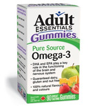 Adult Essentials Gummies Pure Source Omega-3