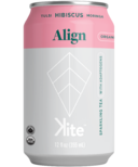 KITE Align Tulsi Hibiscus Moringa Sparkling Tea