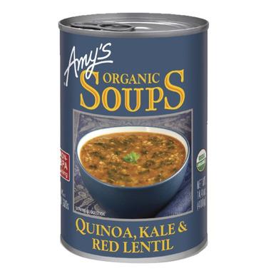 Amy\'s Organic Quinoa, Kale & Red Lentil Soup