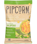Pipcorn Heirloom Cheese Balls Cheddar Jalapeno