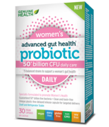 Genuine Health Advanced Gut Health Probiotic Womens Daily 50 Billion CFU