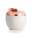 Illume Cider Wood Apple Ceramic Candle