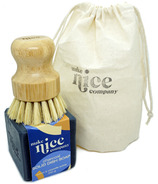 Make Nice Company Dish Soap + Scrubber Kit Charcoal