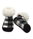 Pudus Classic Lumberjack White Socks Toddler