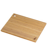Island Bamboo Honey Stripe Cutting Board